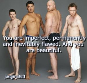 Imperfect and beautiful
