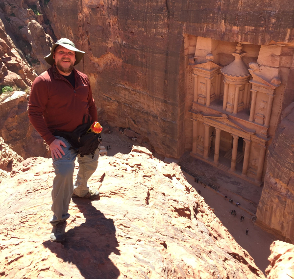 Above the Treasury at Petra