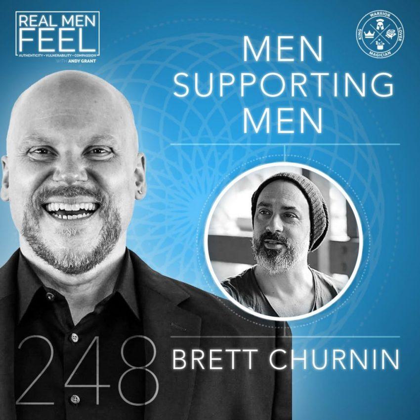 brett churnin men supporting men
