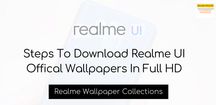Download Realme UI Official Wallpapers In Full HD