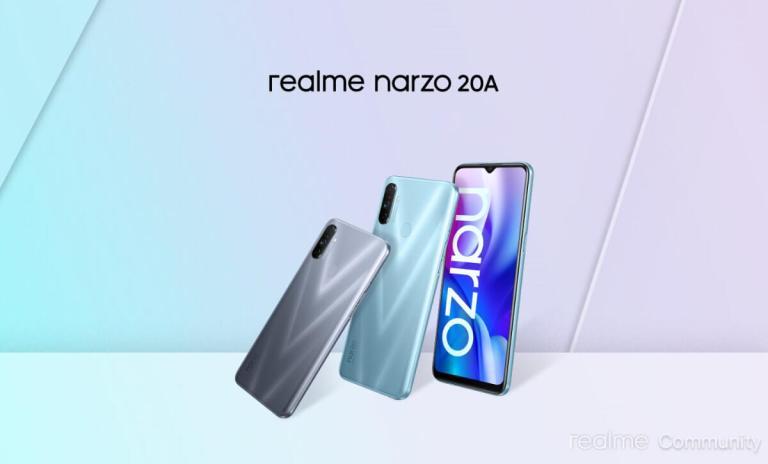 Realme Narzo 20A - Realme Updates