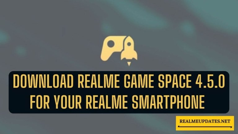 Download Game Space 4.5.0 For Your Realme Smartphone