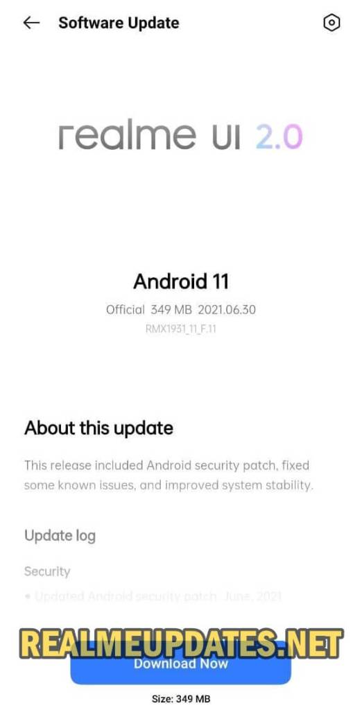 Realme X2 Pro Android 11 Realme UI 2.0 Stable Update Screenshot - Realme Updates