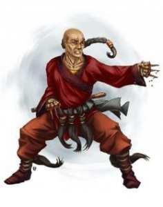 Human Shaolin Hemomancer