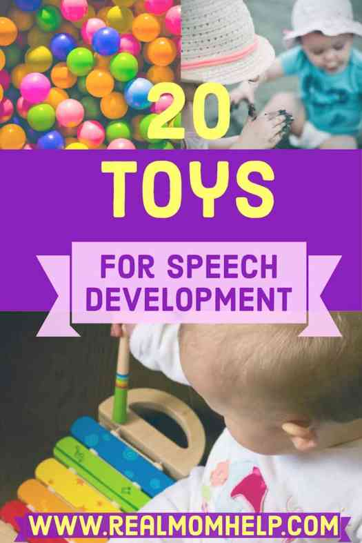 toys for language and speech development