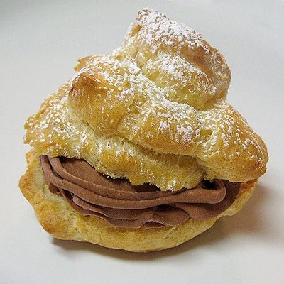 Chocolate Mousse Filled-Cream Puffs | Real Mom Kitchen