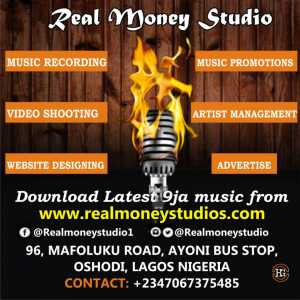 music, how to sell song on iTunes from Nigeria, REAL MONEY STUDIO