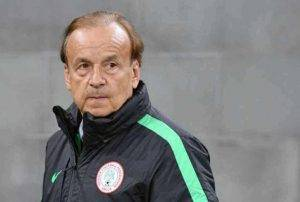 Gernot-Rohr-300x202 (Sport) Rohr Invites Ezenwa, Udoh, Adeleye Two Other Home Based Stars For Liberia Friendly