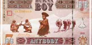 Instrumental - Anybody by Burna Boy (produced By Mykah)