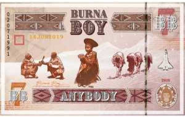Instrumental - Anybody by Burna Boy (produced By Mykah)