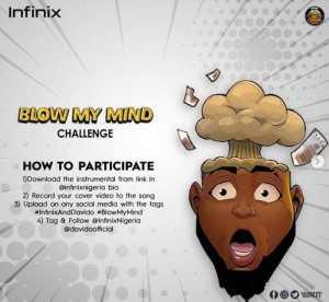 davidoo-1-300x276 Official Instrumental - Davido ft. Chris Brown – Blow My Mind [Win #500k in Infinix Competition]
