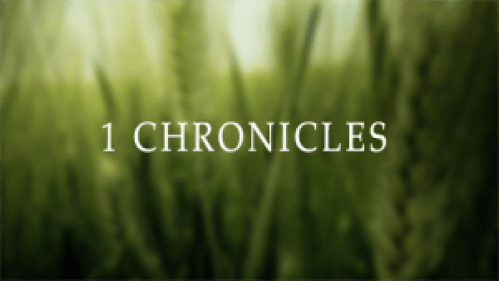 HOLY BIBLE – 1 CHRONICLES 17 : 1 – 27
