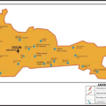 Map of Ogun State Showing the Local Government Areas LGA Map Scale 1500 000