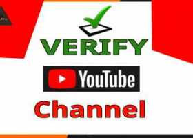 how to Verify YouTube channel