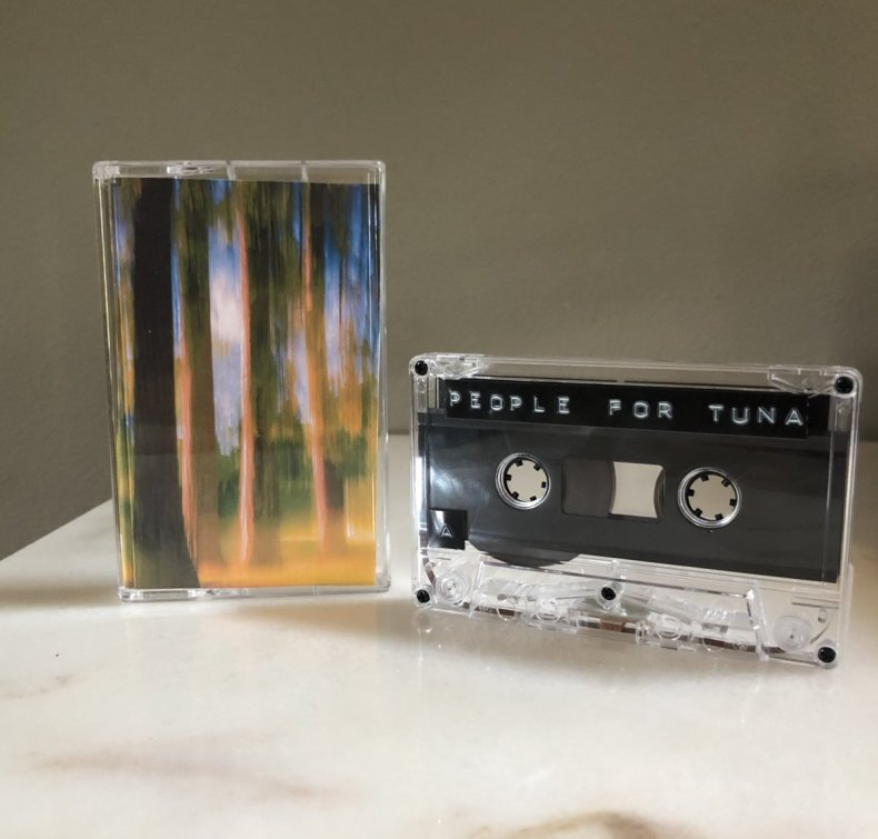 People For Tuna creative commons compilation cassette tape
