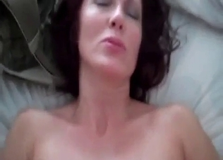 Mom With Big Ass Jumps On Her Lovely Son