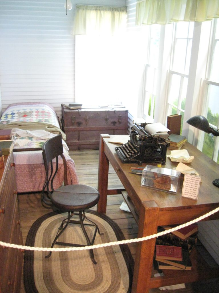 Robert E. Howard's bedroom