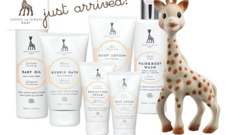 REVIEW – Sophie The Giraffe Organic Baby Skincare