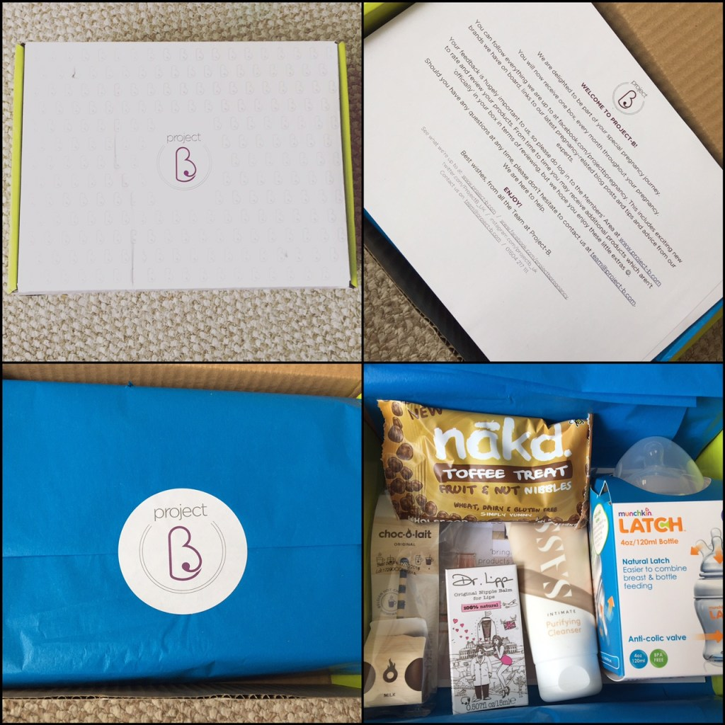 project  b pregnancy subscription boxes