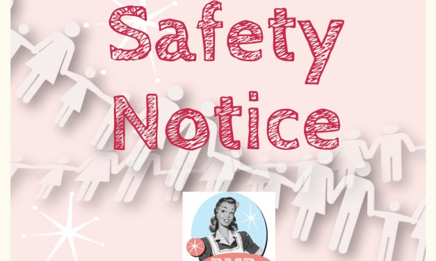 Safety Notice – Tommee Tippee Steam Blender
