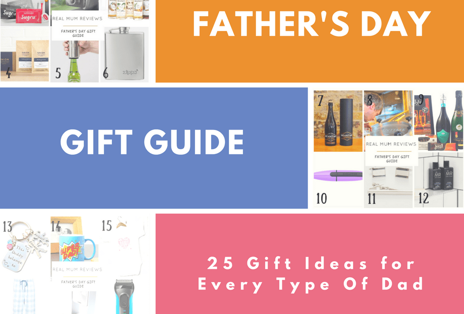 Father's Day Gift Guide – 25 Gift Ideas for Every Type of Dad!