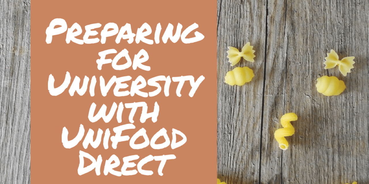 Preparing for University with UniFood Direct