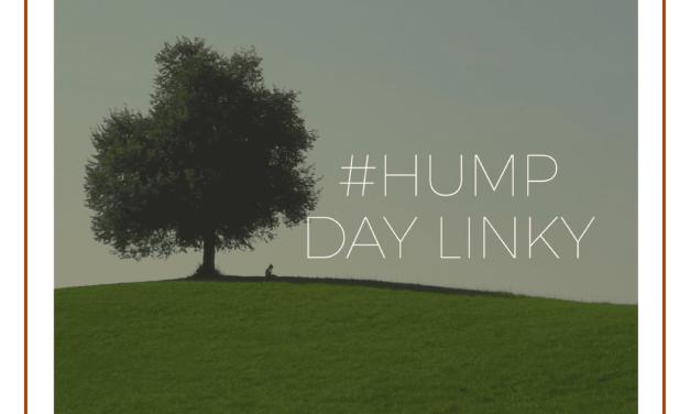 Hump Day Linky 18/10