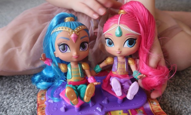 REVIEW – Fisher-Price Shimmer & Shine Magic Flying Carpet