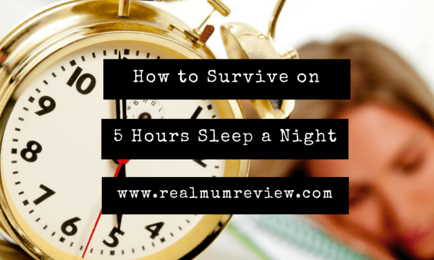 How to Survive on 5 hours Sleep a Night
