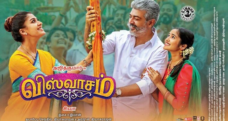 Thalle Thillaaley Full Video Song From Viswasam Tamil Movie