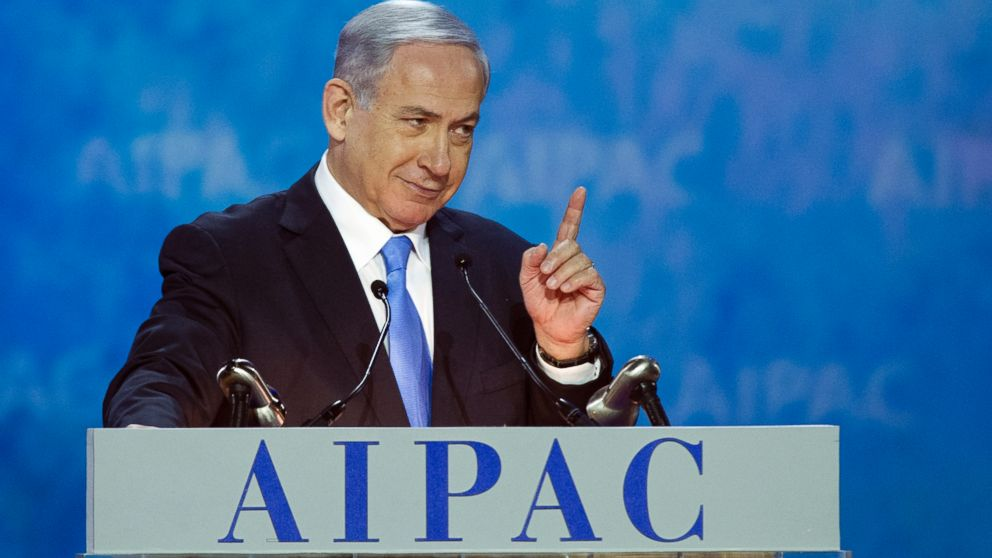 During U.S. Visit Netanyahu Garners Congressional Support to Relocate Palestine to Wyoming