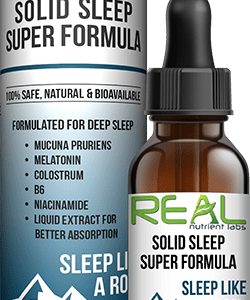 Real Nutrient Labs - Solid Sleep Formula