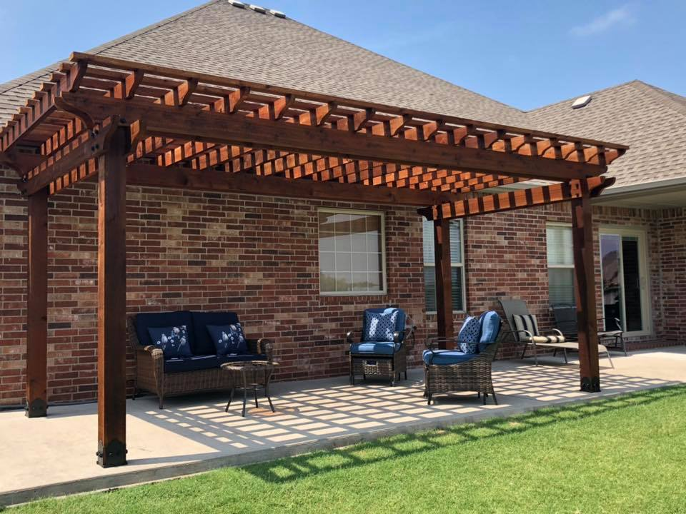 tulsa pergola builder patio covers