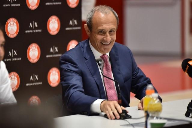 Conferenza stampa Ettore Messina, Olimpia Milano