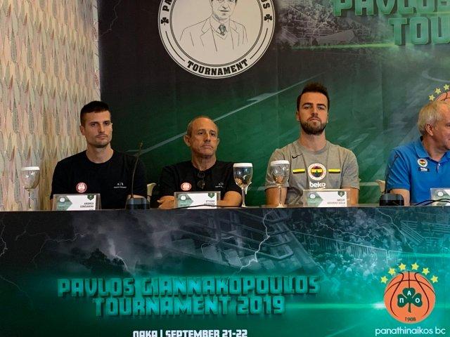 Pavlos Giannakopoulos Tournament   Le parole di Cinciarini e Messina