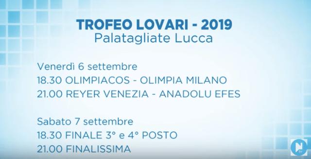 Olimpia Milano al Trofeo Lovari | Info Biglietteria e nessuna diretta streaming