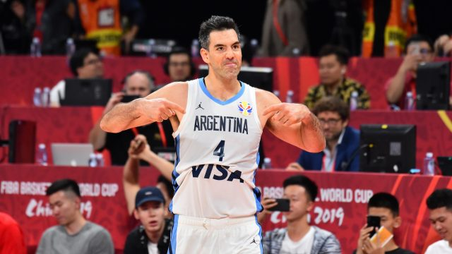 Luis Scola è un giocatore di Olimpia Milano