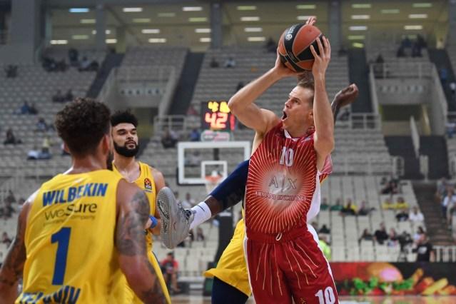 Olimpia da dieci e lode: anche il Maccabi va ko ad Atene