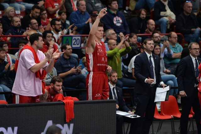 Panathinaikos vs Olimpia Milano | Tarczewski, Cinciarini e Condivisione