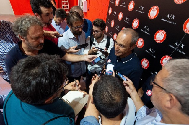Ettore Messina: Chance di vincere, ma pensiamo solo alla prima gara