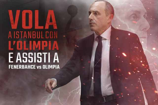 Olimpia Milano e Fondazione Cannavò: in palio un viaggio a Istanbul