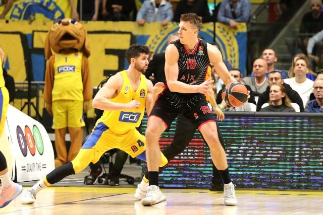 L'Olimpia lotta ma non basta: Wilbekin fa sorridere il Maccabi