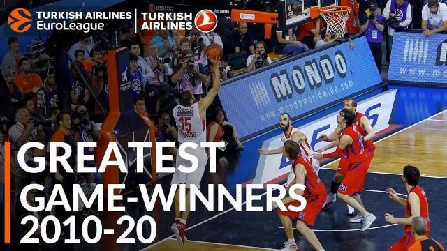 EuroLeague Greatest Plays 2010-20