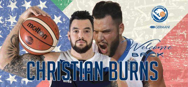 UFFICIALE – Christian Burns firma con la Pallacanestro Brescia