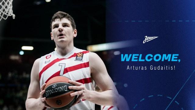 UFFICIALE – Arturas Gudaitis firma un biennale con lo Zenit