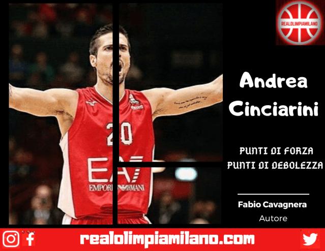 Un semplice giudizio sul roster Olimpia Milano | Andrea Cinciarini