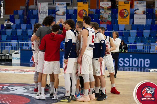 Urania Basket, la gara con Treviglio sarà a porte chiuse