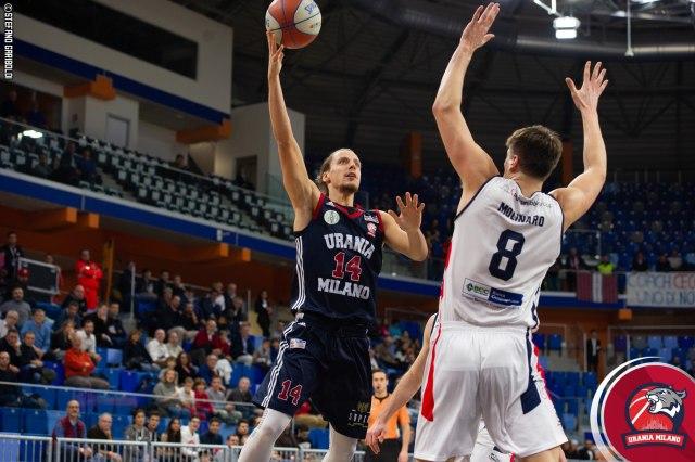 Il basket dilettantistico si ferma, non l'Urania Milano in Serie A2