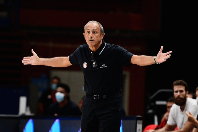 Ettore Messina: Braccino un po' corto, ma la difesa ha fatto la partita