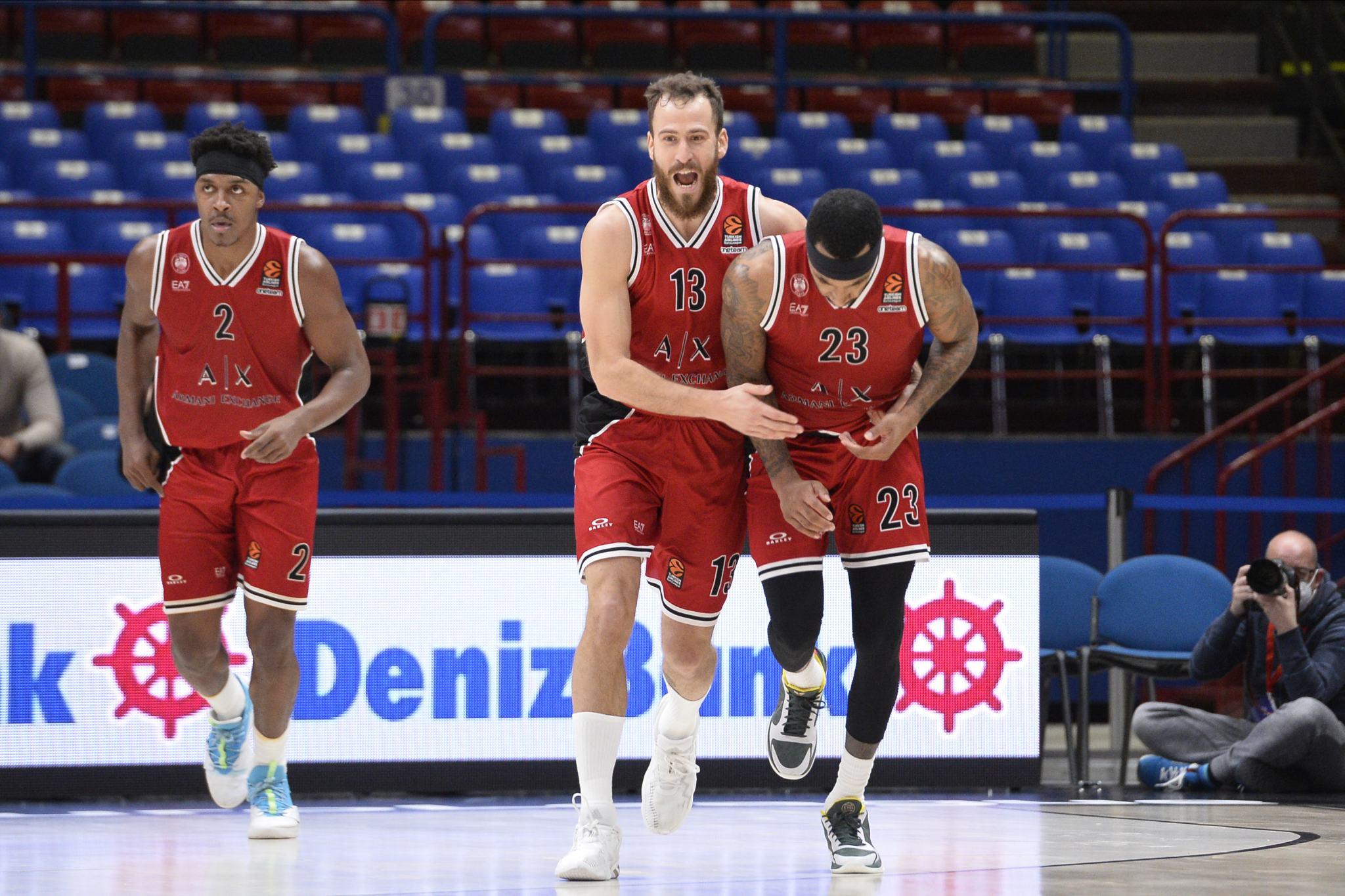 Olimpia Milano post Zalgiris